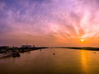 Qinhuai River sunset